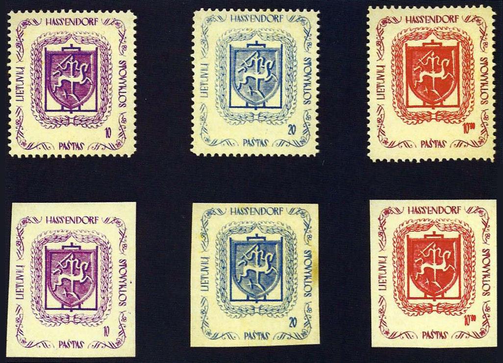 """1945 – """"Hassendorfer Briefmarke"""""""