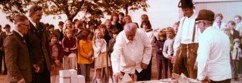 1974 – Bau des Gemeinschaftshauses (DGH)